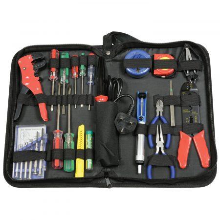 710.368 25 piece electronics tool set