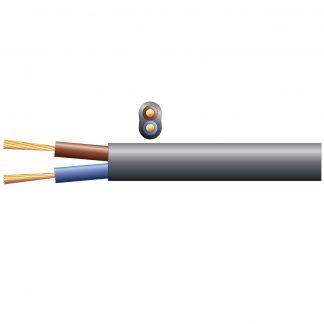 804.314 100m black 100v line 6A speaker cable