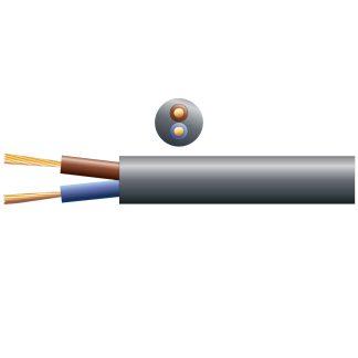 804.332 100m black 100v line 10A speaker cable