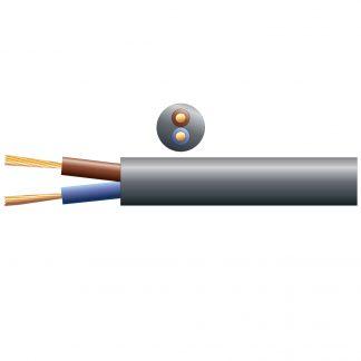804.380 100m black 100v line 6A speaker cable
