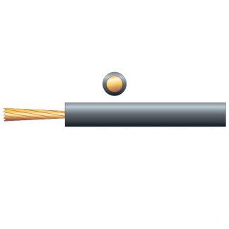 804.663 100m reel black induction loop cable