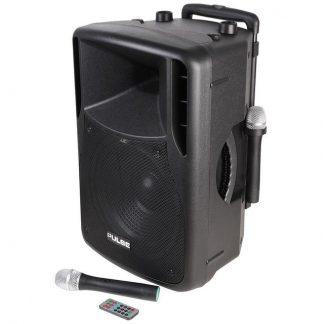 """PA12 12"""" 50w RMS portable PA sound system"""
