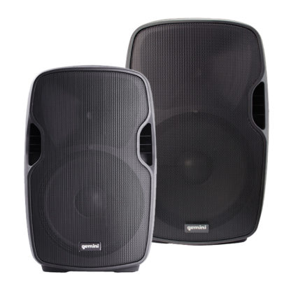 AS-BLU Series powered speakers with MP3 & Bluetooth