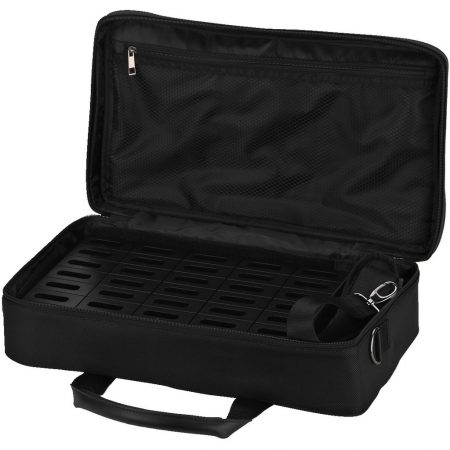 ATS-35CB transport bag with integrated charger