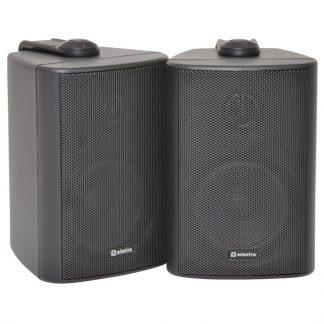 BC3-B 30w 8 ohm black wall cabinet speakers