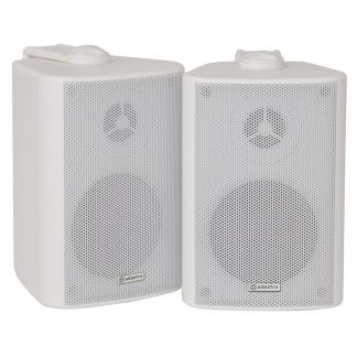 BC3-W 30w 8 ohm white wall cabinet speakers