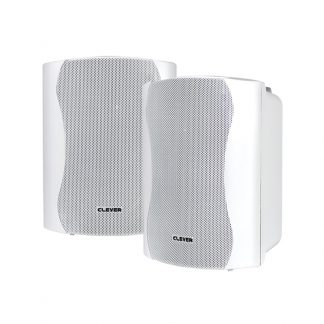 BGS 25T-W 16w 100V line or 8 Ohm white wall cabinet speakers