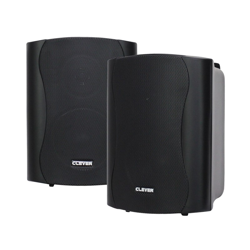 BGS 35T-B 16w 100V line or 8 ohm black wall cabinet speaker