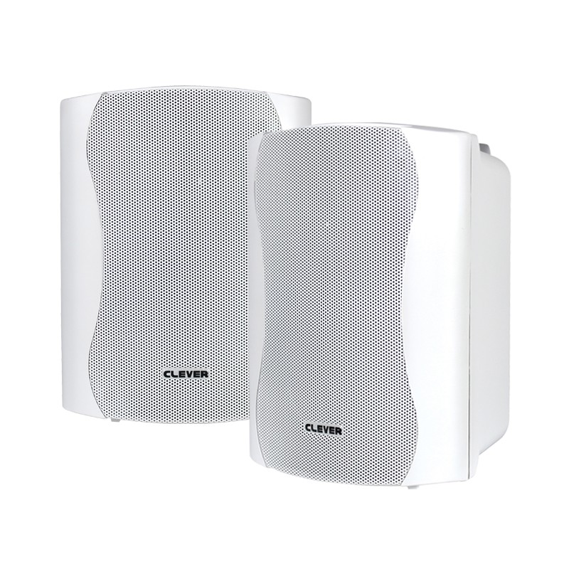 BGS 35T-W 16w 100V line or 8 ohm white wall cabinet speaker