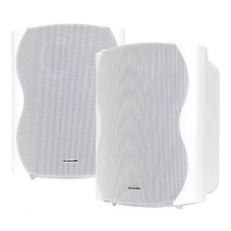 BGS 85T-W 50w 100V line or 8 ohm white wall cabinet speaker