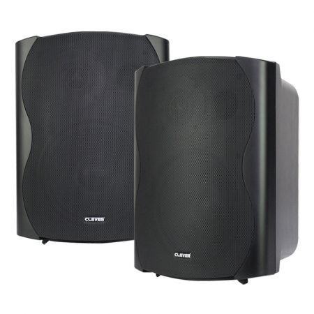 BGS 85T-B 50w 100V line or 8 ohm black wall cabinet speaker