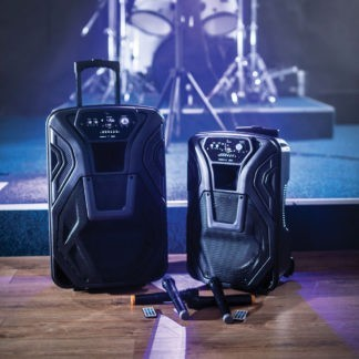 BUSKER-15 100w portable PA with wireless microphones, MP3 & Bluetooth