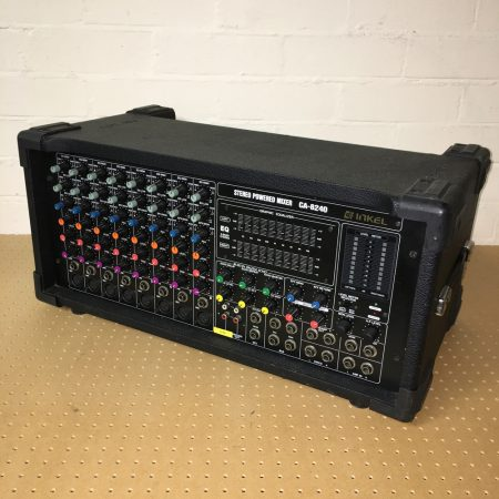 CA-8240 200+200w powered mixer - used