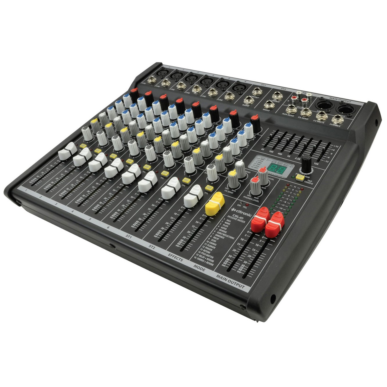 CSL-10 8 input mixer with DSP effects