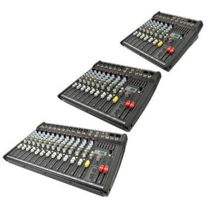 CSL Series mixers with DSP effects