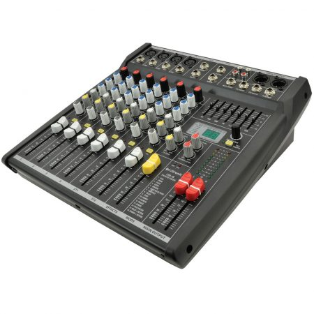 CSL-8 8 input mixer with DSP effects