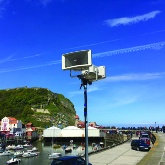 Outdoor PA Sound Systems