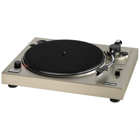 DJP-104 stereo hi-fi turntable record deck with USB port and integrated phono preamplifier