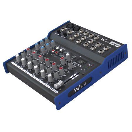 DMIX 10FX 10 input mixer with DSP effects
