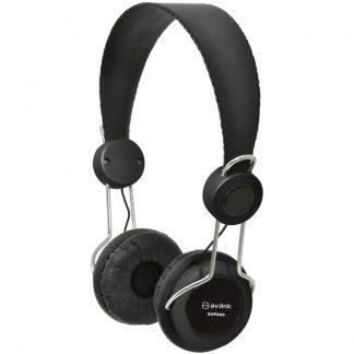 EHP800-BLK black computer classroom headphones with in-line microphone