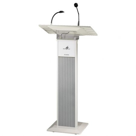 ETS-840TXS lectern with integrated PA sound system