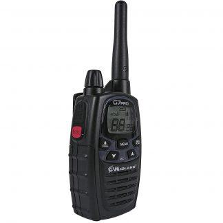 G7 Pro PMR radio with charging dock