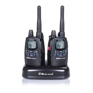 G7 Pro SET pair of PMR radios with twin charging dock