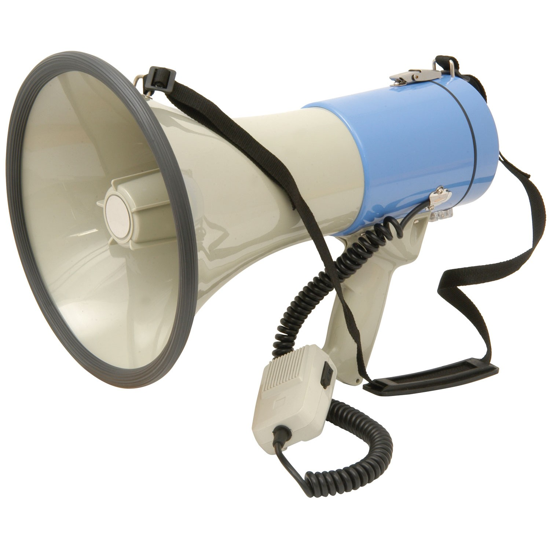 L25 25w megaphone with siren