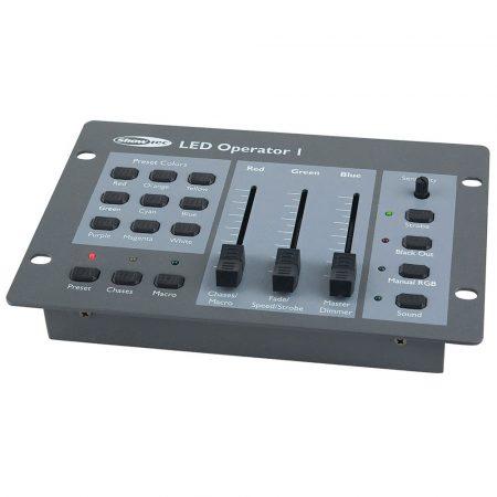 LED Operator 1 DMX controller
