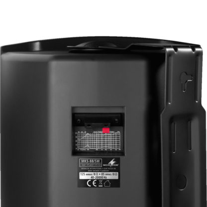 MKS-88/SW 85w 8 ohm black wall cabinet speakers