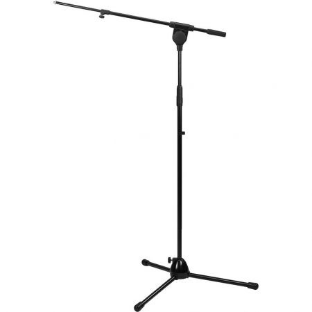 MS-92 black microphone floor stand
