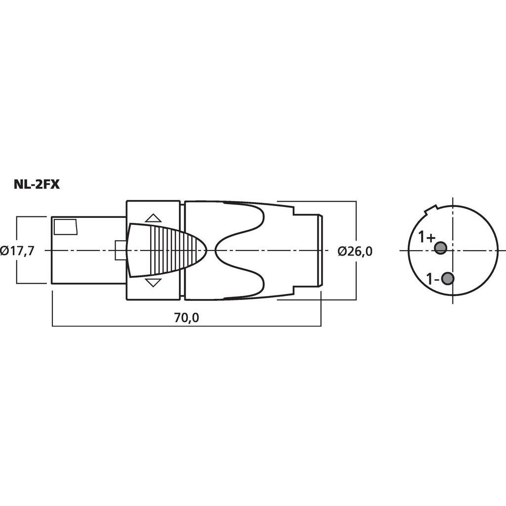 on neutrik 2 pole wiring diagram
