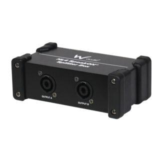 W Audio NL4-SPLIT 1 into 2 Speakon splitter box