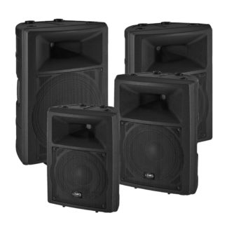 PAB-100 Series cabinet speakers
