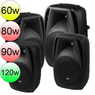 PAK-DMP Series powered speakers
