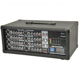 PH8200 200w powered mixer