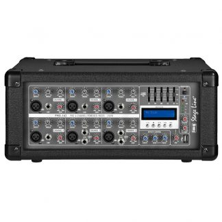 PMX-162 160w powered mixer with MP3