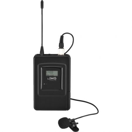 TXS-606LT & TXS-606LT/38 UHF bodyworn wireless microphone transmitter with clothing clip mic
