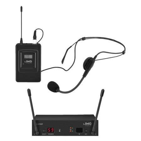 TXS-631/SX UHF bodyworn wireless microphone system with headmic