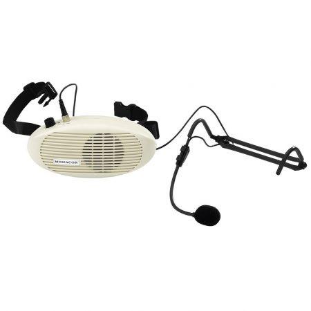 WAP-3 waistband amplifier with headmic