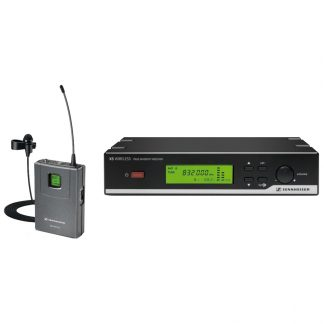 XSW12 presenter single UHF wireless microphone on Channel 38