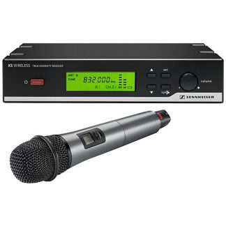 XSW65 presenter single UHF wireless microphone on Channel 38