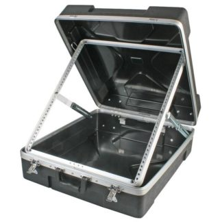 "ABS-12U 19"" ABS mixer flight case"