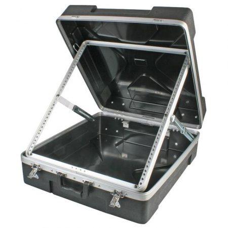 "ABS-12U 19"" ABS mixer flight case"