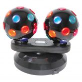 DB2-112 Dual Rotating Disco Balls