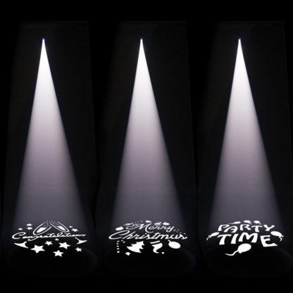 EQLED084 Gobo Projector XP 80W Light Effect