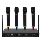 MIC80 RM Quartet Handheld Wireless Microphone System