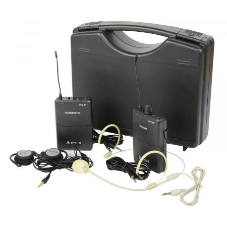UP2 portable UHF wireless microphone system