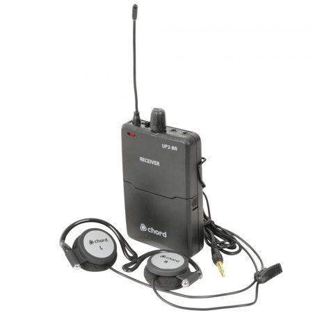 UP2-BR beltpack UHF receiver