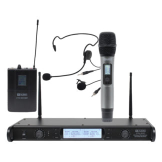 DTM 600 Series twin diversity wireless microphone systems